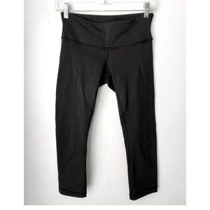 Lululemon Athletica black crop tights